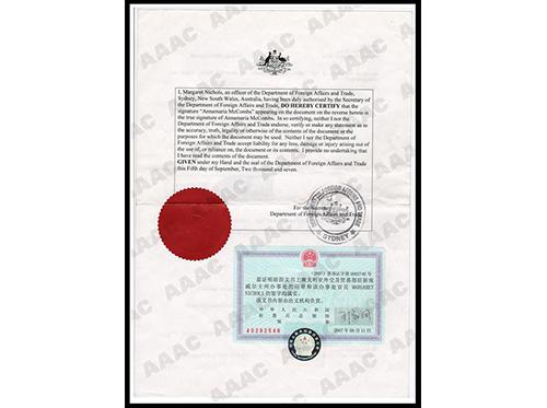 澳嘉营业执照